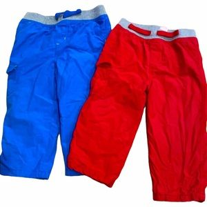 2 cotton lined pants, great for winter!